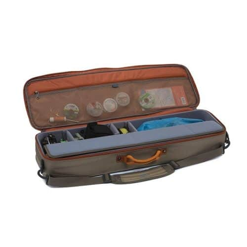 Fishpond Dakota Carry-On Rod & Reel Case Granite Open