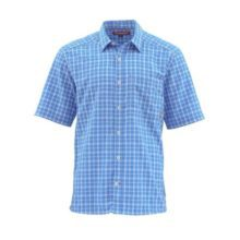 Simms Morada SS Shirt Olympic Plaid