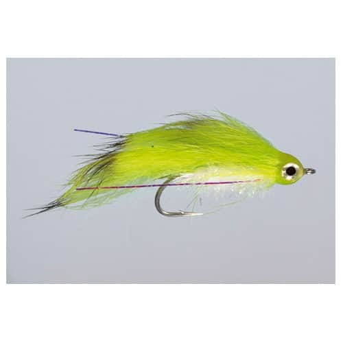 2 Kure's Rabbit Zonker Silver #6 Trout//Bass Fly by Rainy/'s FREE SHIPPING