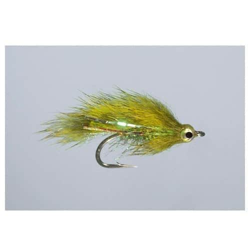 Kure's Squirrel Micro Zonker Chartreuse
