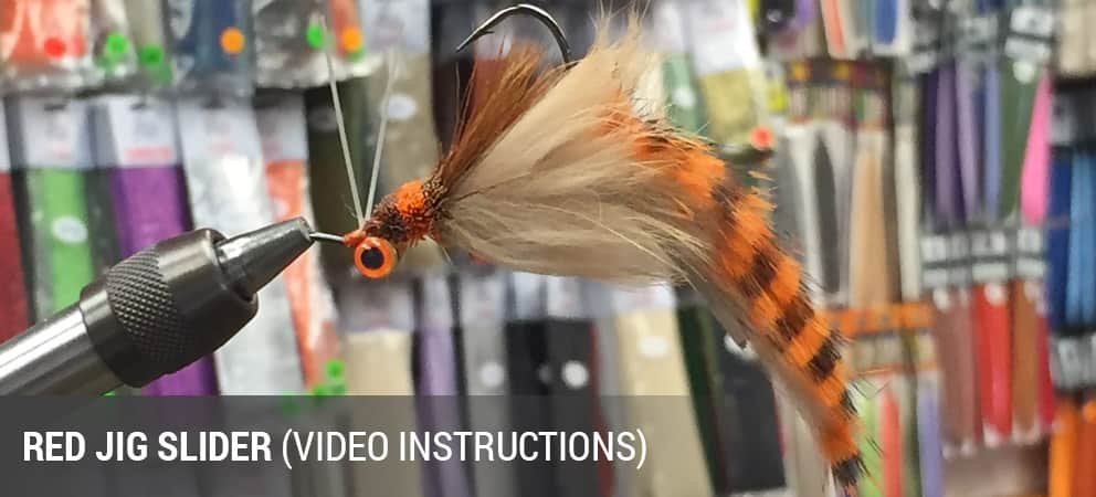 How To Tie The Red Jig Slider