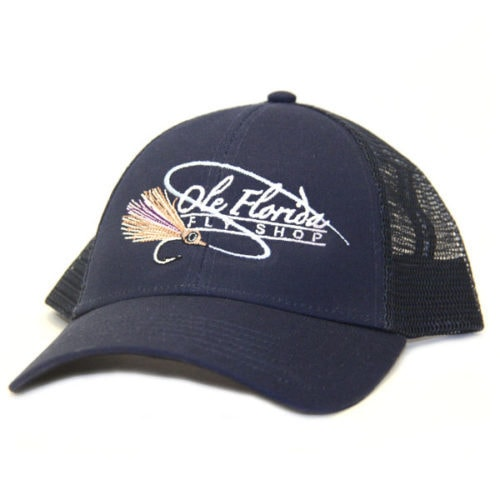 Ole Florida Logo Trucker Dark Moon
