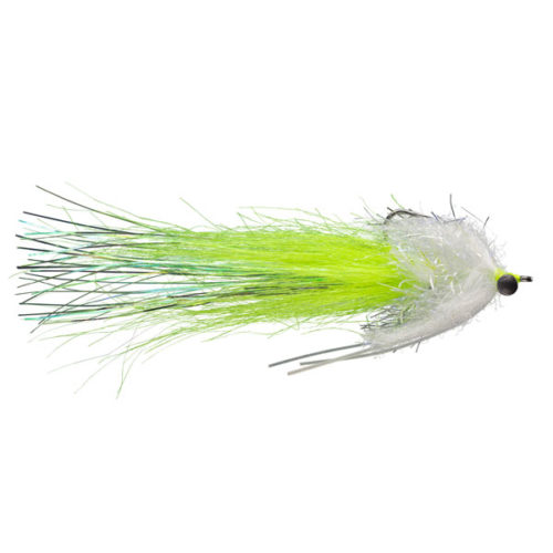RIO's Hopedale Crab Chartreuse redfish fly