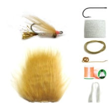 Golden Gotcha Materials Fly Tying Kit