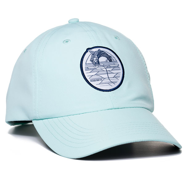 Flood Tide Co Fighting Tarpon Performance Hat