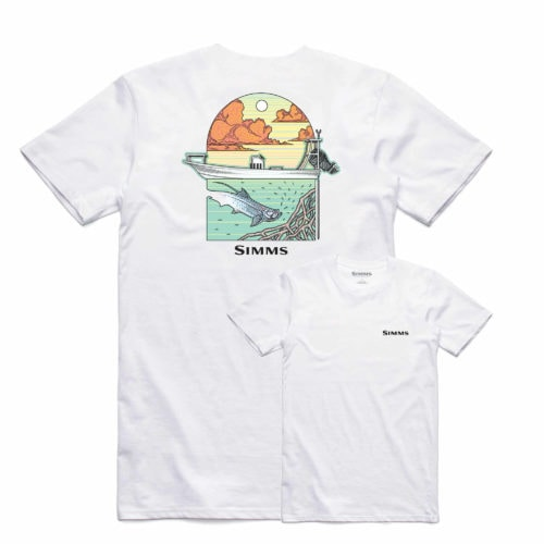 Simms Underwood Ocean T-Shirt White