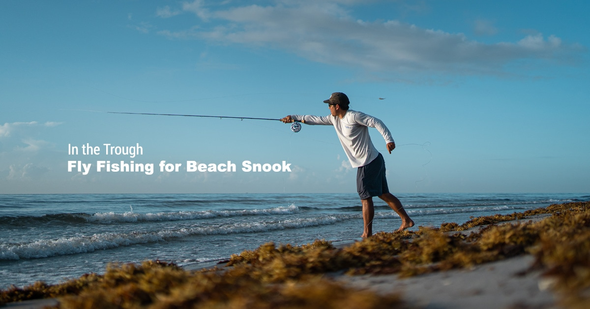 Fly Fishing Beach Snook
