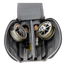 GTS Double Rod Reel Case Carbon Inside